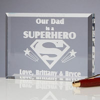 Super Hero Sculpted Keepsake