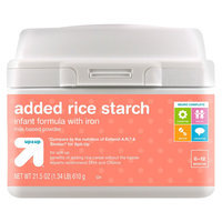up & up Added Rice Starch Infant Formula - 22.2 oz