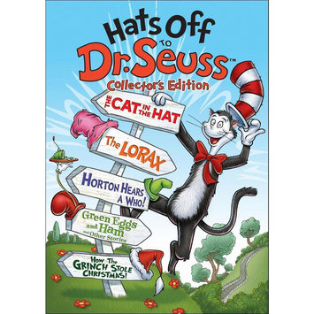 Hats Off to Dr. Seuss (Collector's Edition) (5 Discs) (dvd video)