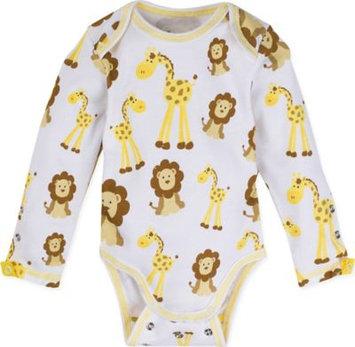 MiracleWear Newborn Baby Boy Snap'N Grow Adjustable Long Sleeve Body Suit