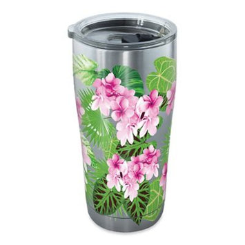 Tervis 20 oz. Stainless Steel Tropical Floral Tumbler One Size