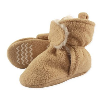 Hudson Baby Toddler Boy or Girl Unisex Sherpa Fleece Booties with Non-Skid Sole