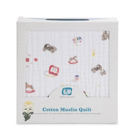 DELUXE MUSLIN QUILT, TOY BOX by Little Unicorn