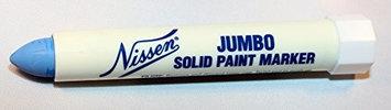 Nissen Paint Marker, Blue,1/2 in. Tip Size Model: 00314