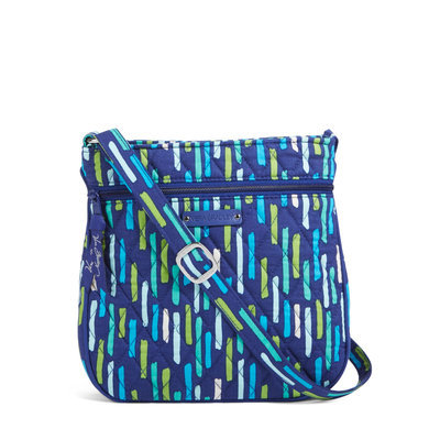 Katalina Showers Petite Double-Zip Hipster Crossbody Bag