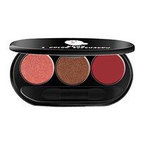 Alonea 3 Color Peach Makeup Smoked Warm Color Beads Matte Eye Shadow