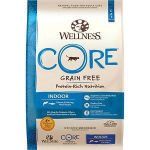 Wellness CORE© Indoor Indoor: Salmon & Herring Dry Cat Food