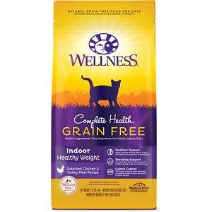 Wellness Complete Health™ Grain Free Indoor Indoor: Healthy Weight Chicken Dry Cat Food