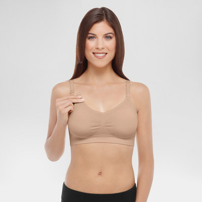 Bravado Designs Ltd Medela Women's Nursing Seamless Bra Nude L, Size: Large