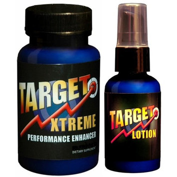 Target Xtreme Lotion & Target Xtreme Male Enhancement Pill 180 Tablets