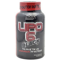 Nutrex Research, Inc. Nutrex Research Lipo-6 Black Caps - 120 Count