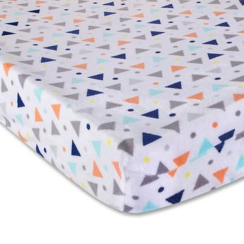 Wendy Bellissimo tm Wendy Bellissimo(TM) Sawyer Triangles and Dot Print Changing Pad Cover
