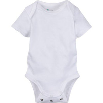 Baby Unisex (0-18M) MiracleWear White Bodysuit 0-6 Months, White