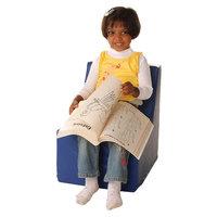 Foam Heads foamnasium Straight Back Chair Play Furniture - Blue (Small)
