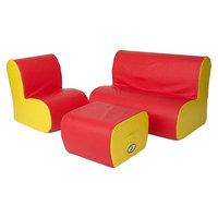 Foam Heads foamnasium Cloud Seating Group Play Furniture - Multicolor, Multi-Colored