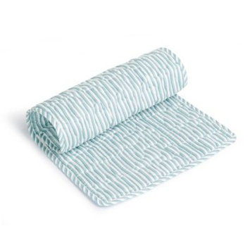 Infant Oilo Changing Pad Topper, Size One Size - Blue/green