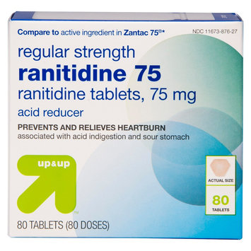 Target up & up Ranitidine 75 mg - 80 Count
