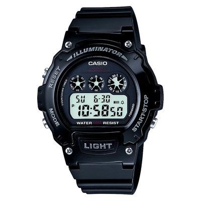 Casio Men's Sport Digital Watch - Glossy Black (W214HC-1AVCF)