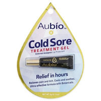Aubio Cold Sore Treatment Gel .11 oz