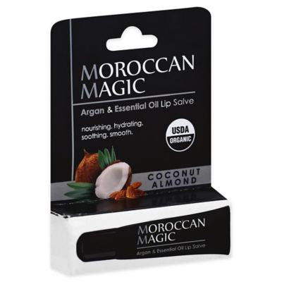Moroccan Magic Lip Salve Coconut Almond .30 oz