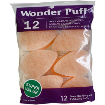Wonder Puff Deep Cleansing Puffs 12 ea