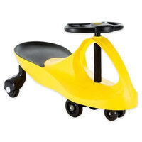 Lil Rider Ride On Car, No Batteries, Gears or Pedals, Uses Twist, Turn, Wiggle Movement to Steer Zigzag Car, for Toddlers, Kids, 2 Years Old and Up
