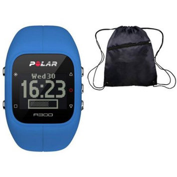 Polar A300 Indigo Blue Fitness and Activity Monitor with HR and Travel Bag