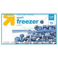 Quart Freezer Bags 100 ct - up & up, Clear