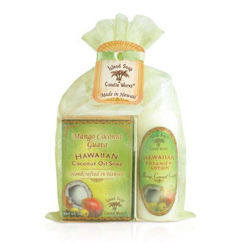 Island Soap & Candle Organza Gift Bag Mango Coconut Guava