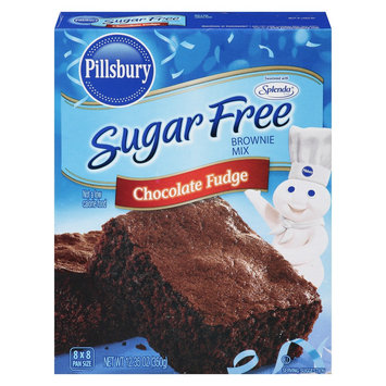 Smucker's Pillsbury Sugar Free Chocolate Fudge Brownie Mix 12.35oz