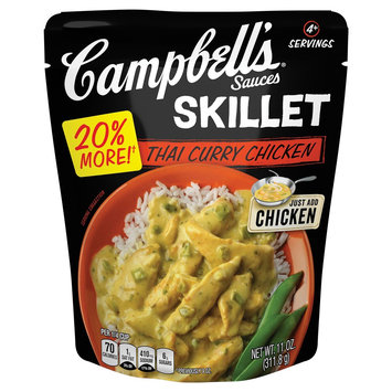 Campbell Soup Company Campbell's Skillet Sauces Thai Curry Chicken 11 oz