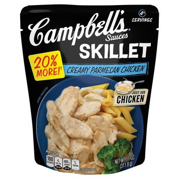 Campbell Soup Company Campbell's Skillet Sauces Creamy Parmesan Chicken 11 oz