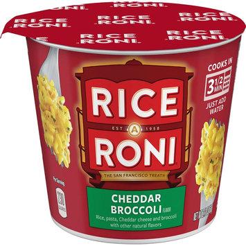 Quaker Oats Rice A Roni Cheddar Broccoli Rice Cup 2.11 oz