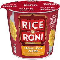 Quaker Oats Rice A Roni Creamy Four Cheese Rice Cup 2.25 oz