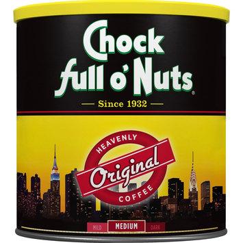 Massimo Zanetti Beverage Usa Chock Full O' Nuts The Heavenly Original Coffee 30.5oz