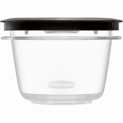 RUBBERMAID INC - Premier Stain Shield Food Storage Container, 2-Cup