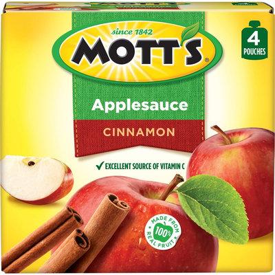 Mott's Snack & Go Cinnamon Applesauce 3.2 oz 4 ct