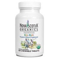 Nova Scotia Organics Kid's Multivitamins and Minerals Tablets, 60 Ct