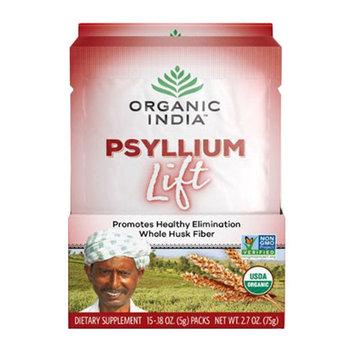 Organic India Lift Box Psyllium Powder, 15 Pouches