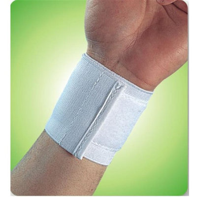 Living Health Products AZ-74-1310-4W 4 in. Wrist Band White - Universal