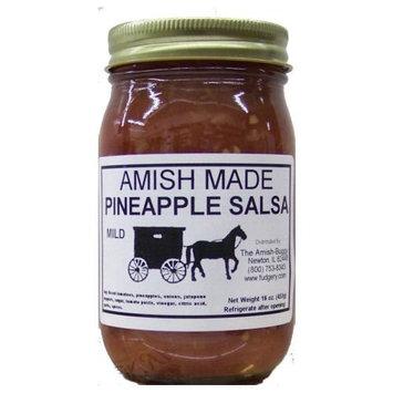 Amish Salsa Mild Pineapple - 2-16 Oz Jars [Pineapple Mild]