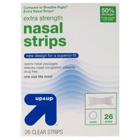 Extra Strength Nasal Strips - 26 Count - up & up