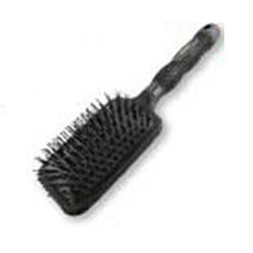 Trellis Boutique Paddle Cushion Hair Brush, Black