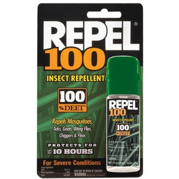 Repel 100 Insect Repellent, 1 oz. Pump Spray, 1 Bottle, 2 Ct