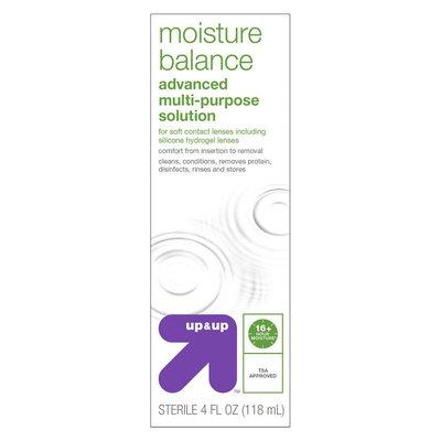 Multipurpose Contact Solution Comfort Formula - 4 Fl Oz - up & up