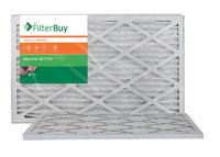 AFB Bronze MERV 6 13x21.5x1 Pleated AC Furnace Air Filter. Filters. 100% produced in the USA. (Pack of 2)