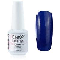 Elite99 Gelpolish Soak-off Gel Nail Polish UV LED Nail Art Mazarine Blue 8ml 1414