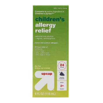 Taro Pharmaceuticals U.s.a. Children's All Day Grape Allergy Relief Syrup 4 oz - up & up