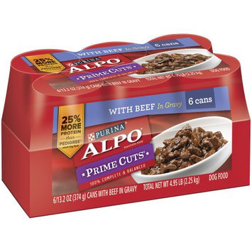 Alpo Prime Cuts In Gravy Dog Food, 6pk