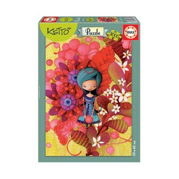 Educa Puzzles 16762 1000 Blue Lady Ketto